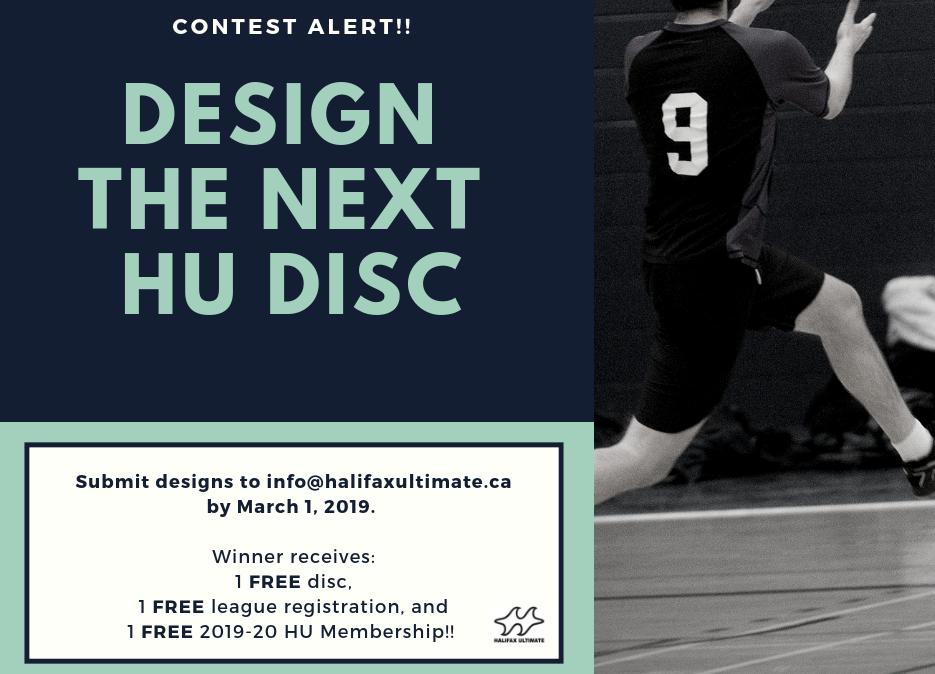 HU Disc Design Contest